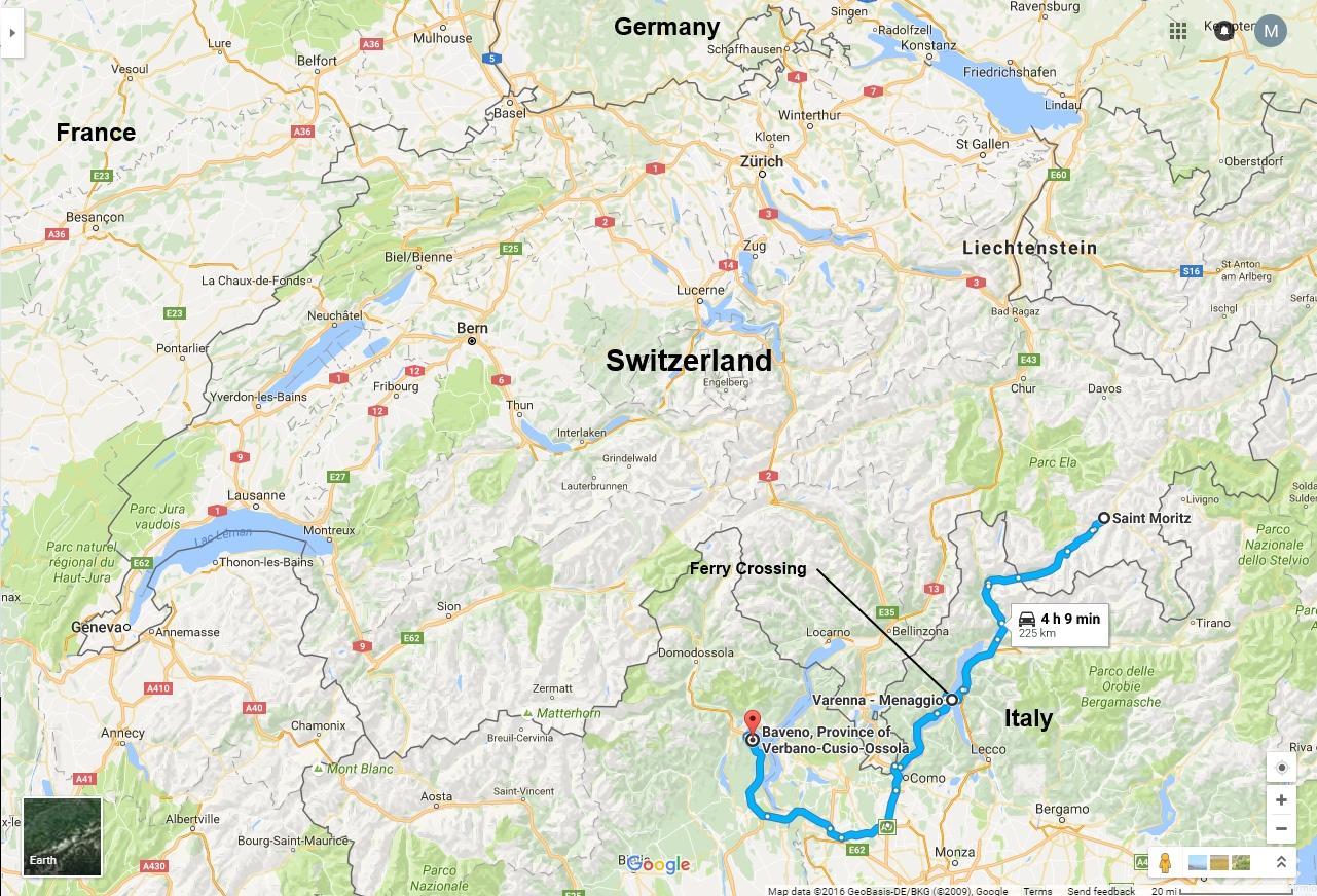 Travelogue Mikes Alpine Rail Tour 2016